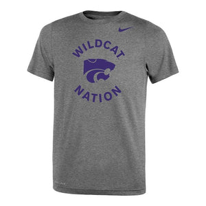 Kansas State Wildcats 2020 Nike Youth Legend Lift Tee - 2008593