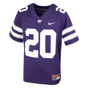 Kansas State Wildcats 2020 Nike Toddler Replica Football Jersey - 2008599