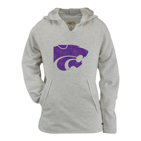 Kansas State Wildcats Youth Girls Rebecca Hoodie - 2008638