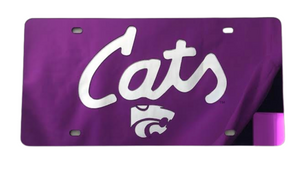 Kansas State Wildcats Cats License Plate - 2008643
