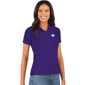 Kansas State Wildcats Women's Legacy Pique Polo - 2008656