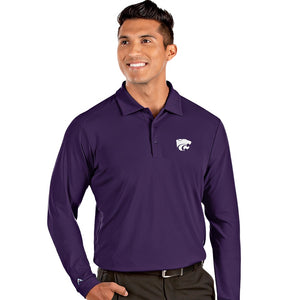 Kansas State Wildcats Men's Tribute Long Sleeve Polo - 2008668