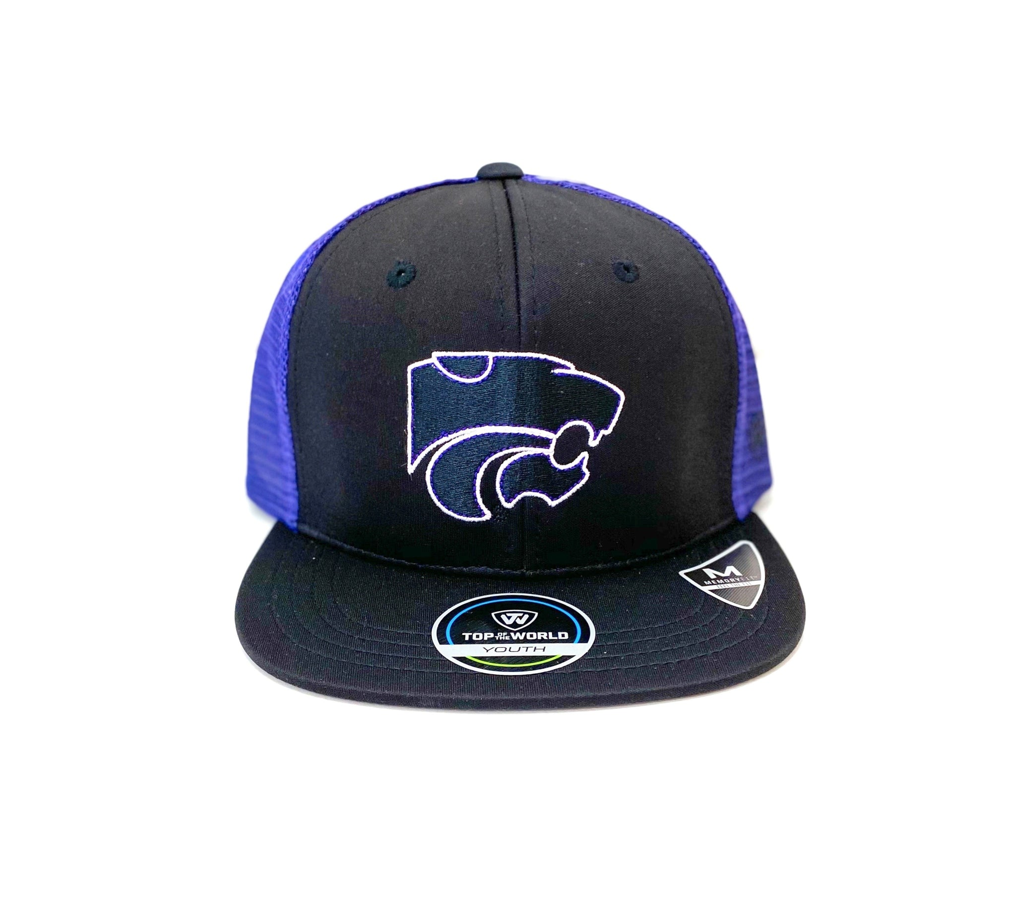 Kansas State Wildcats Youth Rick Snapback Cap - 2008703