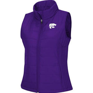 Kansas State Wildcats Women's String Theory Packable Vest - 2008799