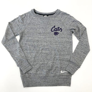 Kansas State Wildcats Nike Women's Cats Gym Vintage Crew - 2008867