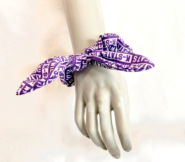 Kansas State Wildcats Block Scrunchie - 2008895