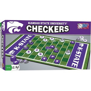 Kansas State Wildcats Checkers Game - 2008955
