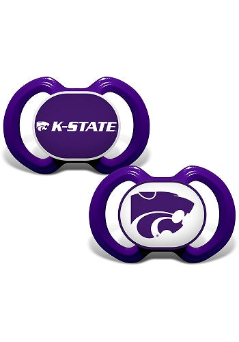 Kansas State Wildcats 2 Pack Pacifer Set - 2008956