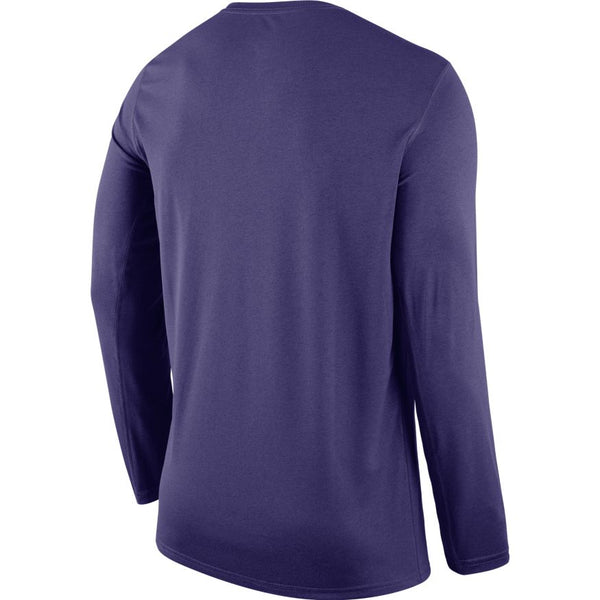 Kansas State Wildcats Nike Purple Small Logo Legend Long Sleeve T-Shirt - 2008967