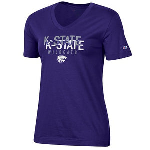 Kansas State Wildcats Champion Women's University 2.0 V-Neck T-Shirt - 2008979