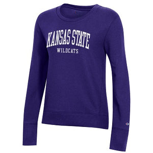 Kansas State Wildcats Champion Women's University 2.0 Fleece Crew - 2008983