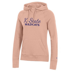 Kansas State Wildcats Champion Women's Blushing Peach University 2.0 Hoodie - 2008985