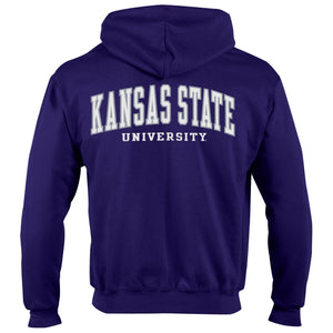 Kansas State Wildcats Champion Powerblend Full Zip Hoodie - 2008991
