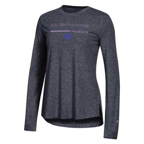 Kansas State Wildcats Champion Women's Field Day Long Sleeve T-Shirt - 2008997