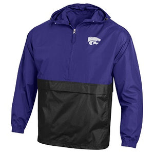 Kansas State Wildcats Champion Color Block Packable Jacket - 2009003