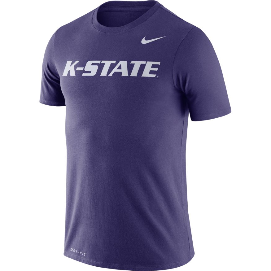Kansas State Wildcats Nike DriFit Legend Wordmark T-Shirt - 2009025