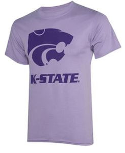 Kansas State Wildcats Youth Lavender Tee - 2009029