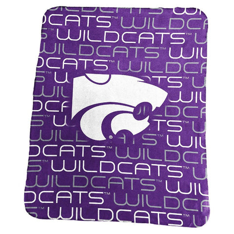Kansas State Wildcats Classic Fleece Blanket - 2009032