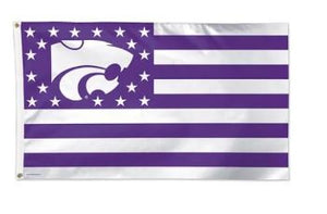 Kansas State Wildcats Stars & Stripes Flag - 2009059