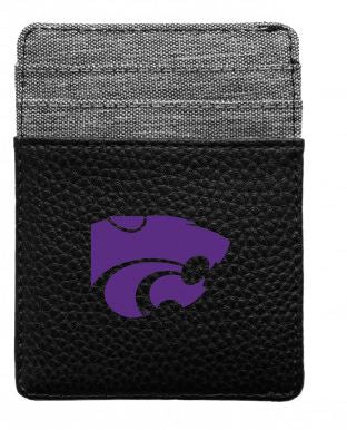 Kansas State Wildcats Pebble Front Pocket Wallet - 2009069