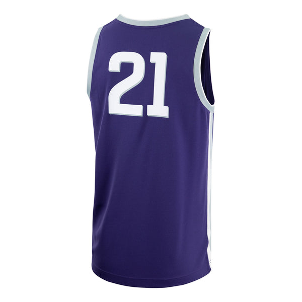 Kansas State Wildcats Nike 2021 Replica Basketball Jersey - 2009117