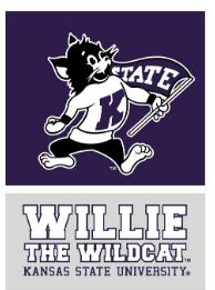 Kansas State Wildcats Willie the Wildcat Magnet - 2009157