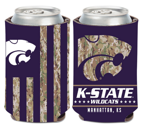 Kansas State Wildcats Military Strong Camo Koozie - 2009172