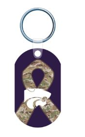 Kansas State Wildcats Military Strong Camo Keychain - 2009174