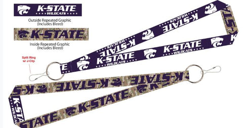 Kansas State Wildcats Military Strong Camo Lanyard - 2009177