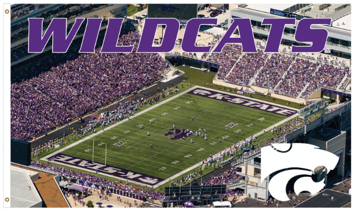 Kansas State Wildcats Venue Flag - 2009180