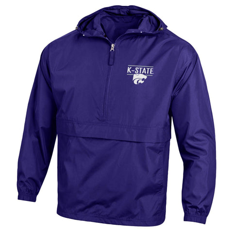 Kansas State Wildcats Champion Powercat Pack N Go Pullover Jacket - 2009241