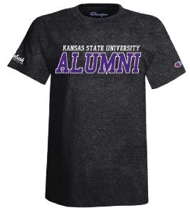 Kansas State Wildcats Champion Charcoal Alumni T-Shirt - 2009243
