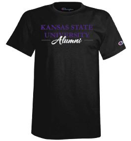 Kansas State Wildcats Champion Snappy Script Alumni T-Shirt - 2009244