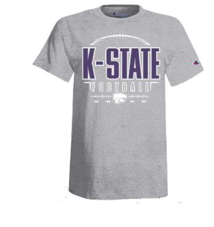 Kansas State Wildcats Champion Binder Football T-Shirt - 2009247