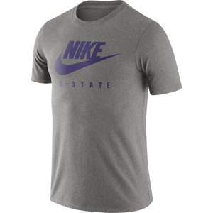 Kansas State Wildcats Nike Grey Essential Futura T-Shirt - 2009253