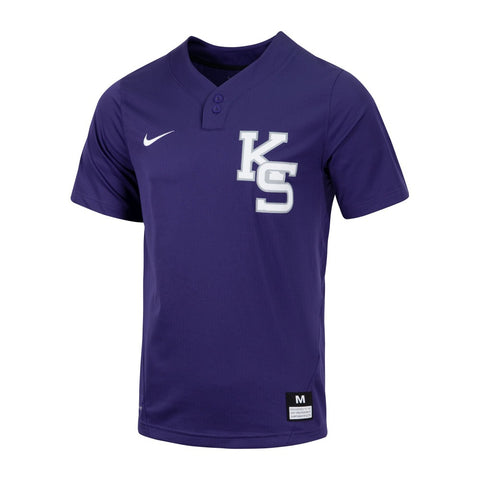 Kansas State Wildcats Nike Two Button Baseball Jersey - 2009263