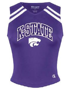 Kansas State Wildcats Champion Youth Girls Motion Cheer Shell - 2009279