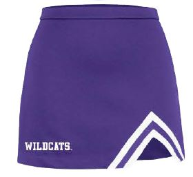 Kansas State Wildcats Champion Youth Girls Motion Cheer Skirt - 2009280