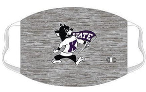 Kansas State Wildcats Champion Space Dye Willie Face Mask - 2009536