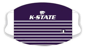 Kansas State Wildcats Champion Lateral Striped Face Mask - 2009537
