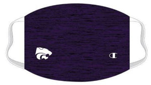 Kansas State Wildcats Champion Purple Space Dye Face Mask - 2009503