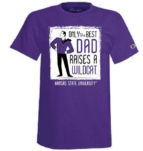 Kansas State Wildcats Champion Best Dad T-Shirt - 2010415