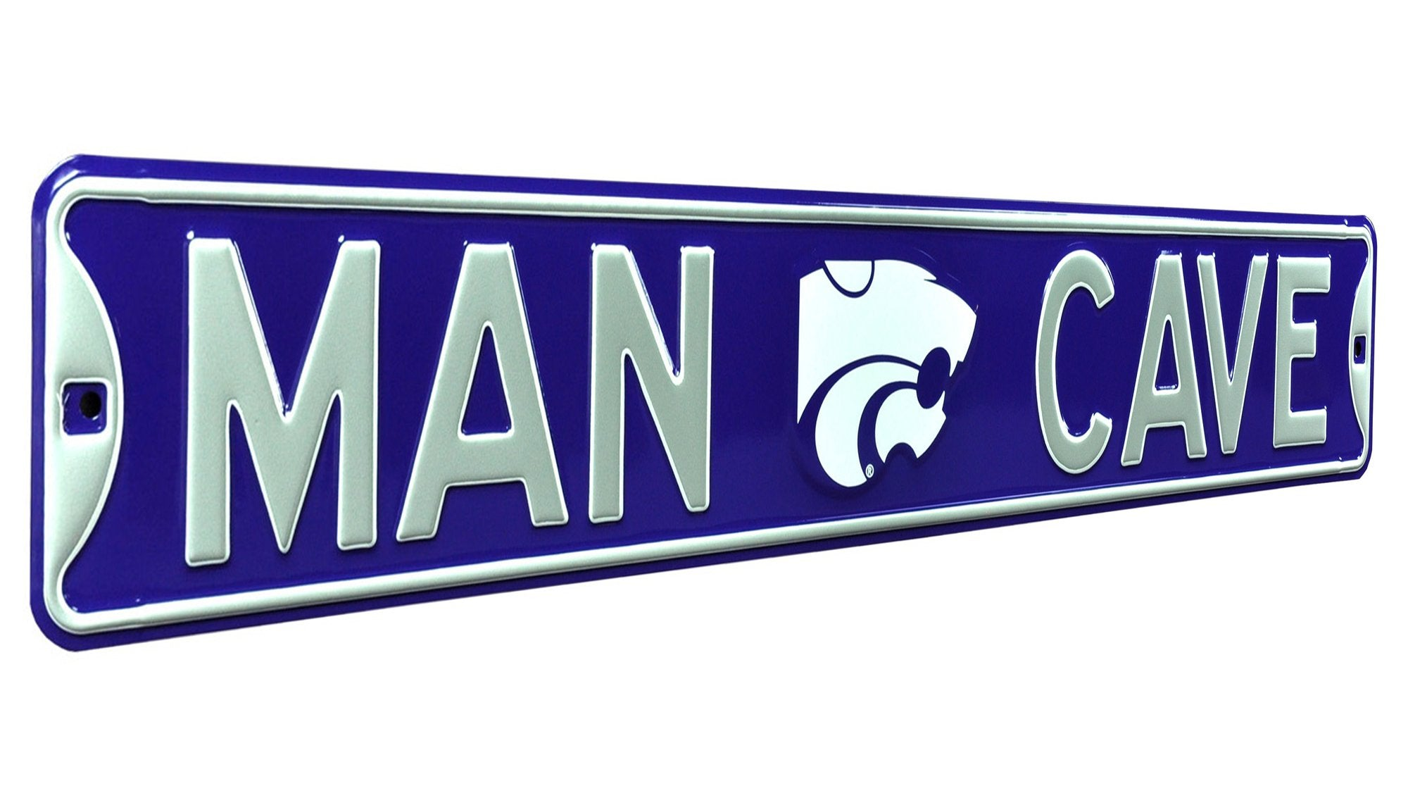 Kansas State Wildcats 'Man Cave' Street Sign - 2007929