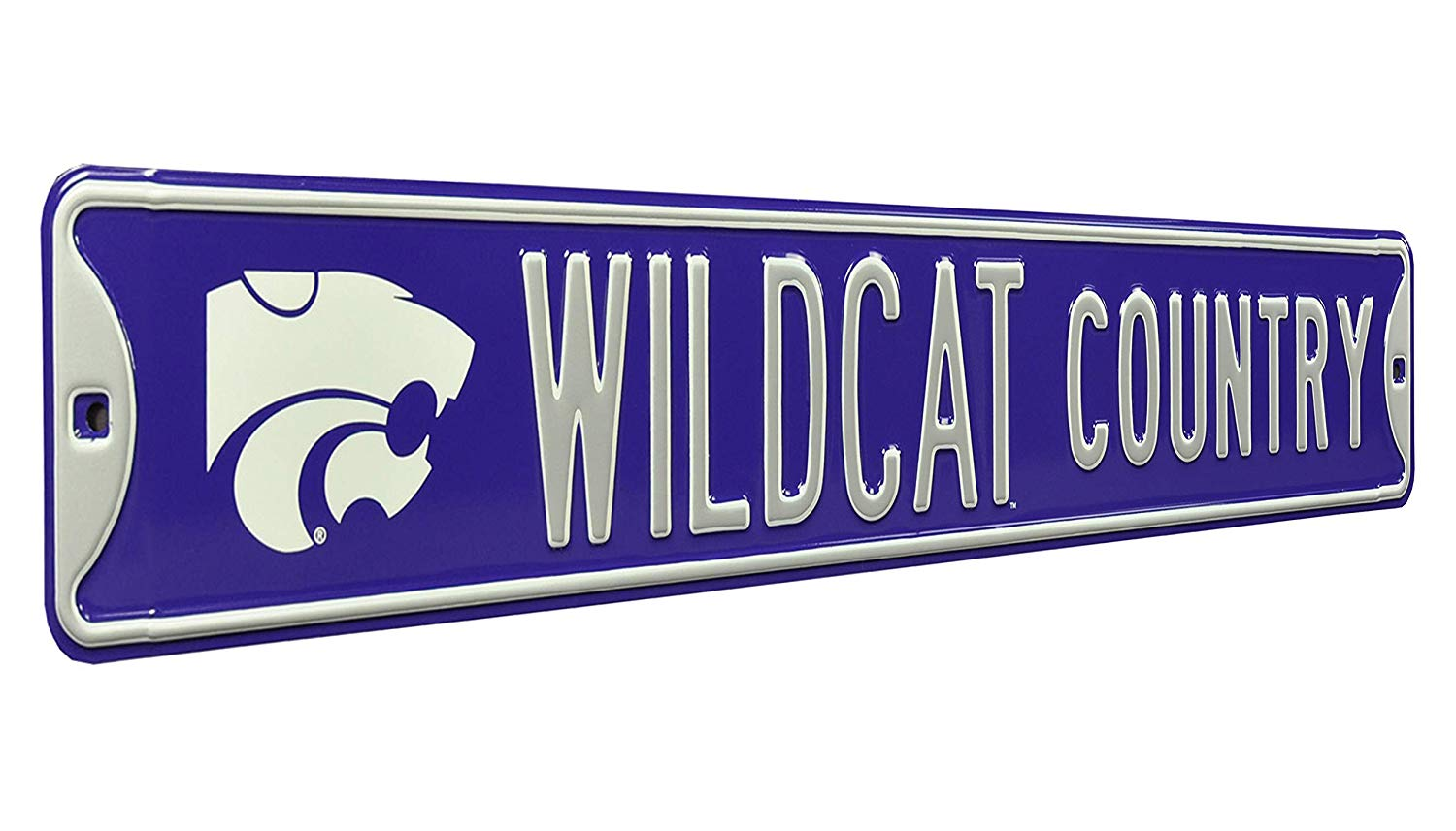Kansas State Wildcats 'Wildcat Country' Street Sign - 2007928