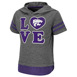 Kansas State Wildcats Girls Yabba Hooded T-Shirt - 2008387