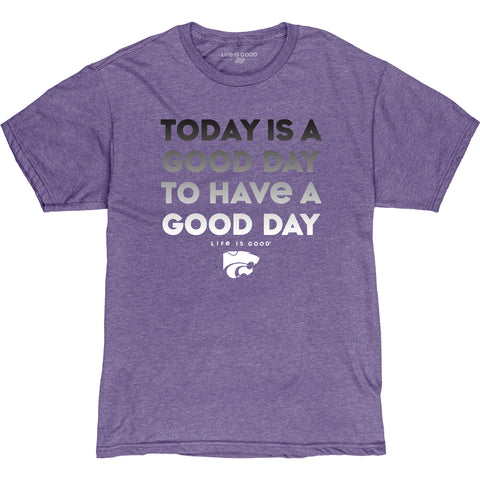 Kansas State Wildcats Life Is Good T-Shirt - 2008871