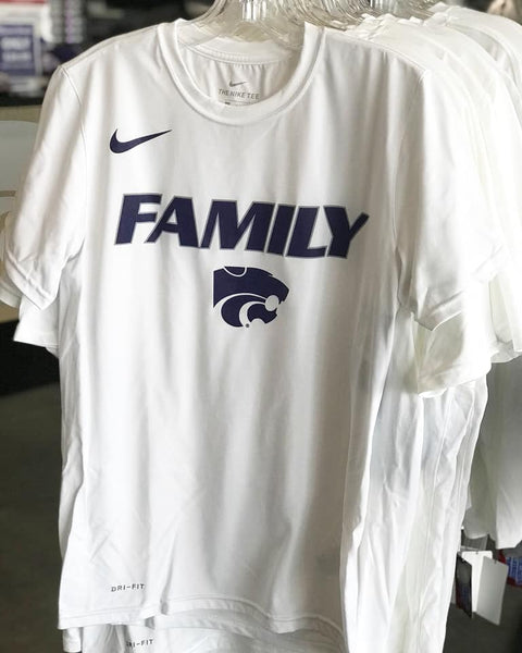 Kansas State Wildcats Nike 2019 Short Sleeve Basketball Bench Family T-Shirt - 2007714