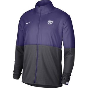 Kansas State Wildcats Nike Sideline Mens Woven Full Zip Jacket - 2008927