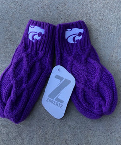 Kansas State Wildcats Team Cable Mittens - 2007741