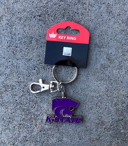 Kansas State Wildcats Team Logo Key Ring - 2000277